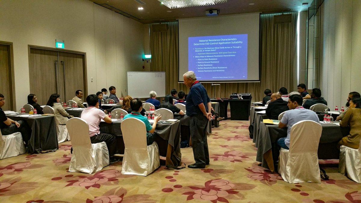 ESDA (Mỹ) đào tạo ESD tại VN-11/2017