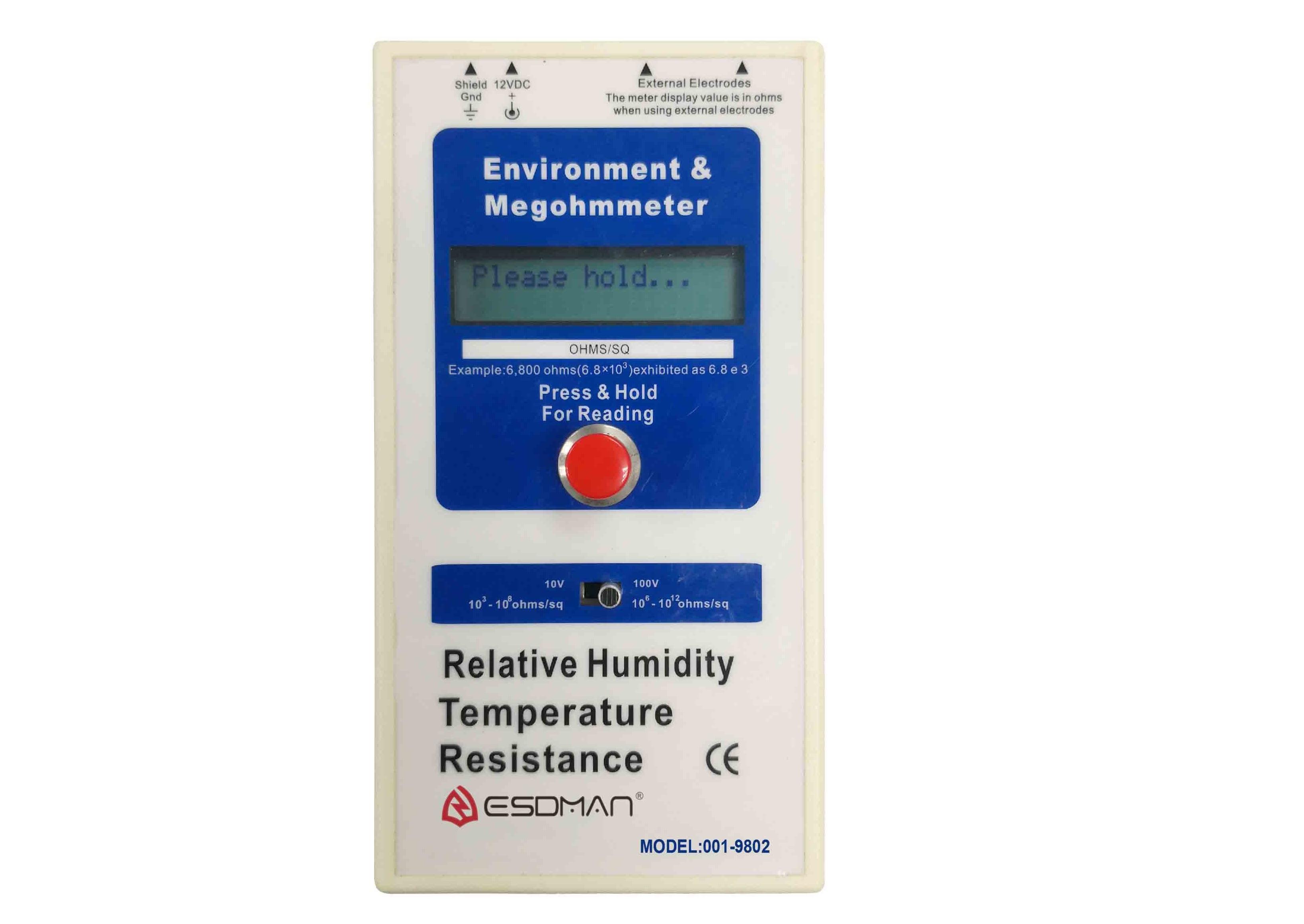 Thiết bị đo điện trở bề mặt ESDMan 001-9802