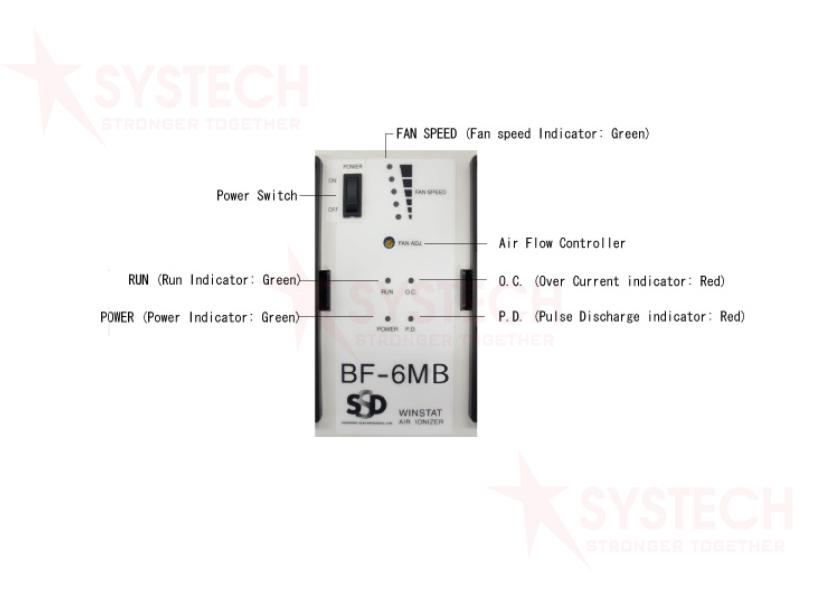 Thiết bị khử tĩnh điện BF-6MB