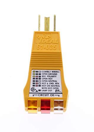 Thiết bị kiểm tra ổ cắm điện 61-035 E-Z