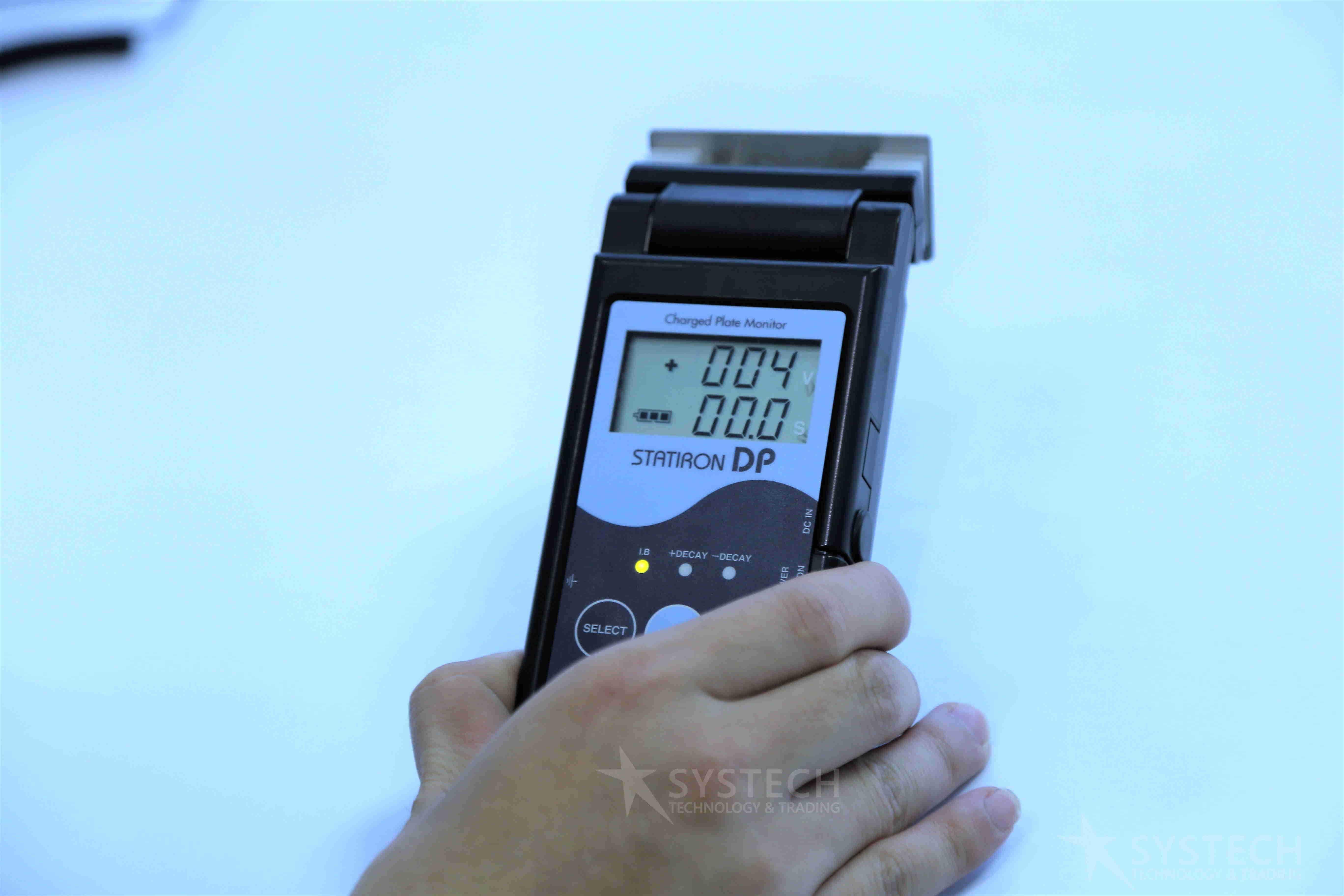 Thiết bị đo ionizer CPM: Statiron DP